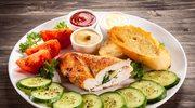 Filet z kurczaka nadziewany pesto