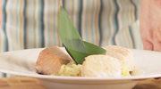 Filet z łososia z risotto z mleczkiem kokosowym i trawą cytrynową