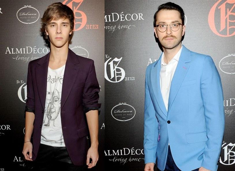 Filip Bobek i Maciej Musiał odwiedzili wiele celebryckich imprez... /Agencja W. Impact