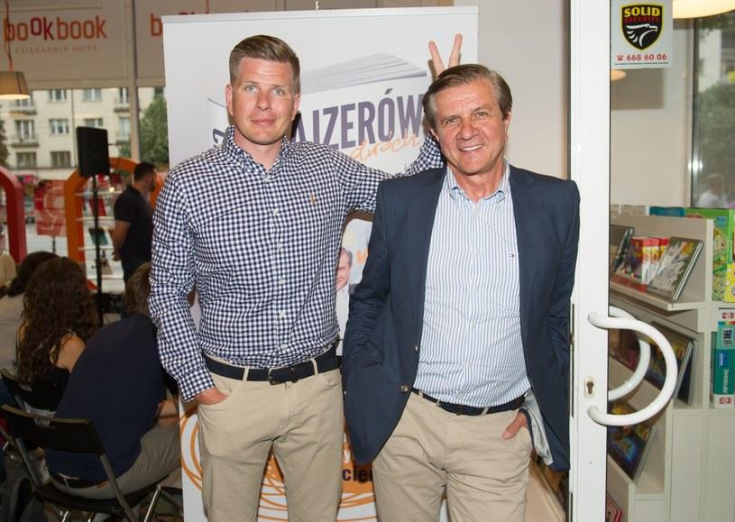 Filip Chajzer i Zygmunt Chajzer /East News