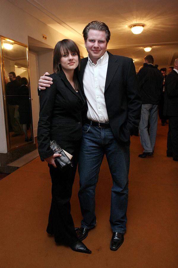 Filip Chajzer z żoną Julią /Prończyk /AKPA