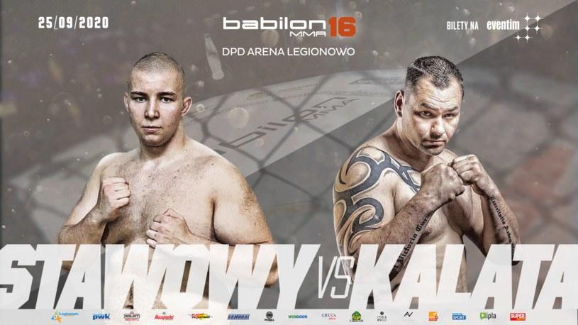 """Filip """"Czołg"""" Stawowy (6-1, 6 KO) i Marcin """"Arab"""" Kalata (1-1, 1 KO) /Informacja prasowa"""