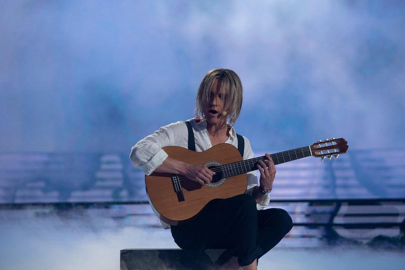Filip Gurłacz jako Sting /M. Zawada /Polsat