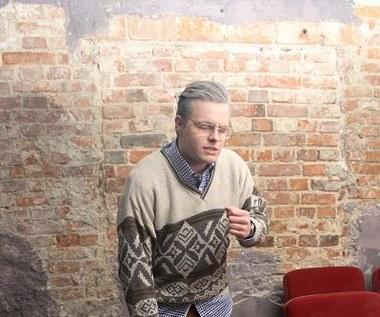 """Filip Mettler na planie teledysku """"Wiary ślad"""""""