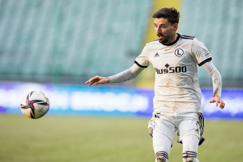Filip Mladenović był kluczowym piłkarzem Legii w meczu z Wisłą Płock /Andrzej Iwanczuk /Reporter /East News