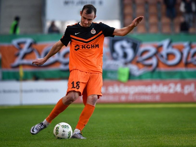 Filip Starzyński zdobył jedynego gola dla Zagłębia /East News