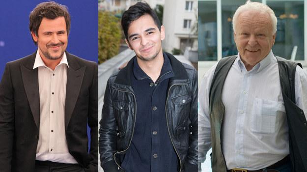 Filip (w środku) reprezentuje już trzecie aktorskie pokolenie Opaniów. /Agencja W. Impact