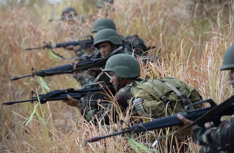 Filipińscy żołnierze / zdj. ilustracyjne /AFP