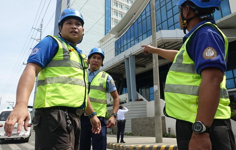 Filipińskie służby /CERILO EBRANO  /PAP/EPA