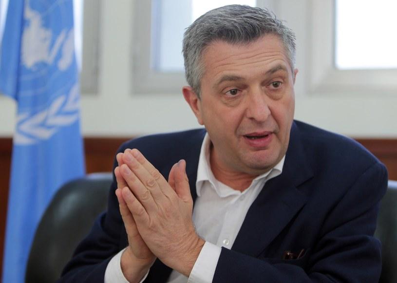 Filippo Grandi rozpoczął pracę jako Wysoki Komisarz NZ ds. Uchodźców /AFP