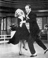 "Film Stanów Zjednoczonych: George Stevens, ""Swing Time"", 1936, Ginger Rogers i Fred Astaire /Encyklopedia Internautica"