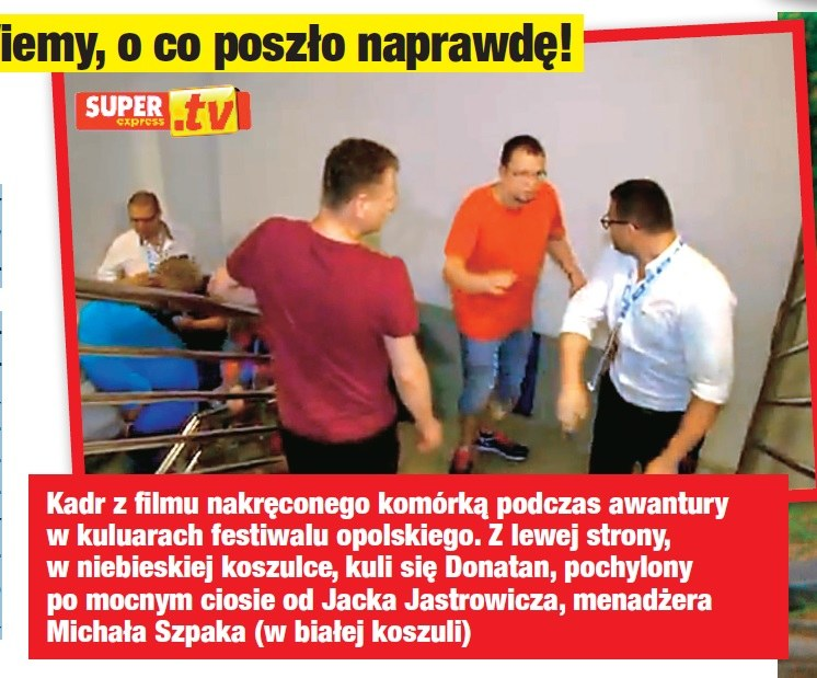 """Filmik z bójki zamieścił """"Super Express"""" /- /Twoje Imperium"""