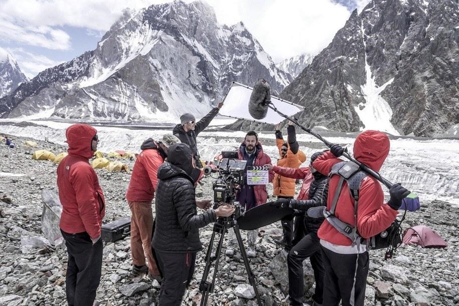 Filmowcy mają za sobą zdjęcia w Karakorum /fot. Leszek Dawid /Materiały prasowe