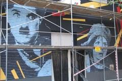 Filmowy mural w kultowym kinie