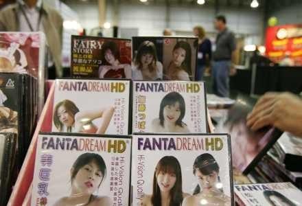 Filmy pornograficzne w wysokiej rozdzielczości niedługo będą konkurencją dla DVD. /AFP