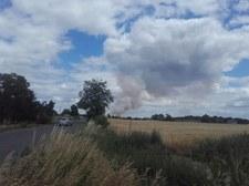 FILMYWielkopolska: Ogromny pożar w okolicy miejscowości Mnichy