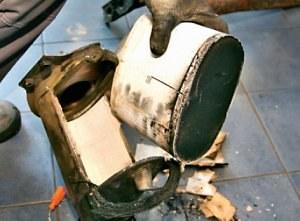 Filtr DPF /Motor