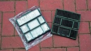 Filtry papierowe mają jasny kolor. Filtry węglowe są naturalnie czarne i wyglądają jak brudne. /Motor
