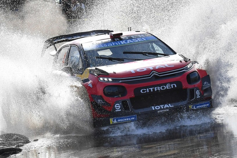 Fin Esapekka Lappi w Citroenie C3 WRC /AFP