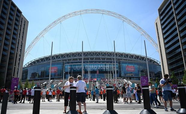Finał Euro 2020 na Wembley. Mecz zobaczy 45 tys. kibiców