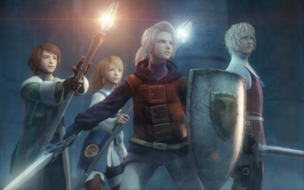 Final Fantasy III - motyw graficzny /Informacja prasowa