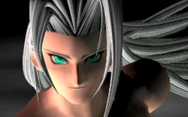 Final Fantasy VII - motyw graficzny /Informacja prasowa