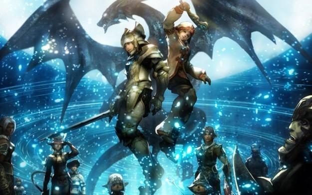 Final Fantasy XI Ultimate Collection Abyssea Edition - motyw graficzny /Informacja prasowa