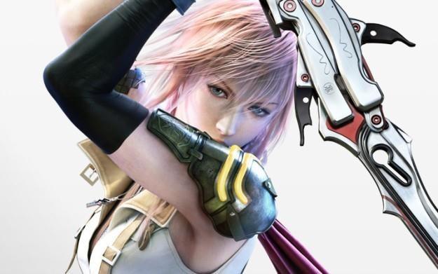 Final Fantasy XIII - motyw graficzny /Informacja prasowa