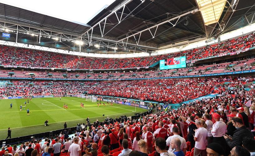 Finał mistrzostw Europy zostanie rozegrany na stadionie Wembley w Londynie /Justin Tallis/ POOL /PAP/EPA