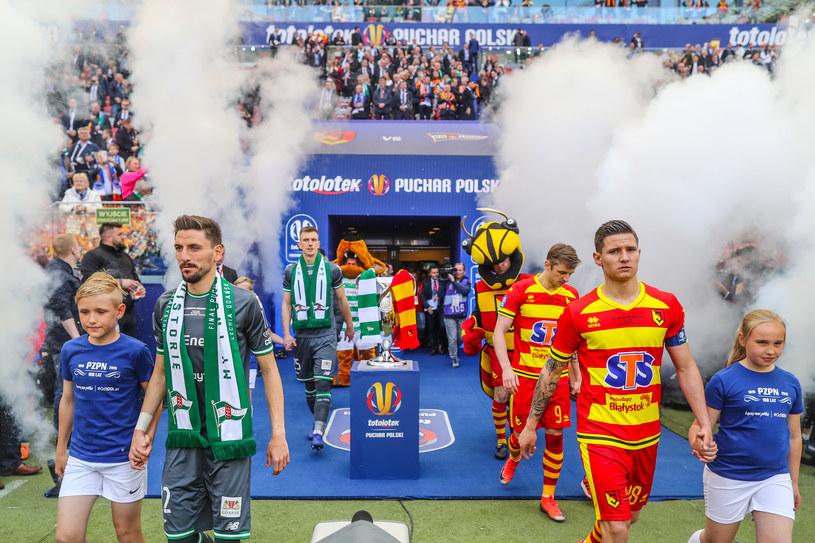 Finał Pucharu Polski Jagiellonia - Lechia 2 maja 2019 r. na Stadionie Narodowym /Łukasz Grochala / CYFRASPORT / NEWSPIX /Newspix