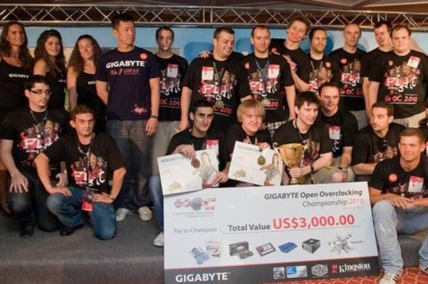 Finaliści europejscy GIGABYTE Open Overclocking Championship 2010 /materiały prasowe