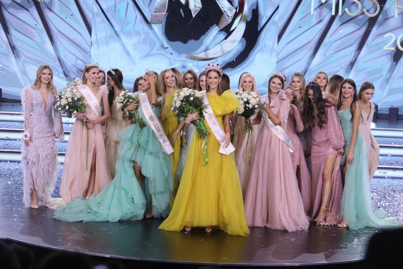 Finalistki Miss Polski 2021 /East News