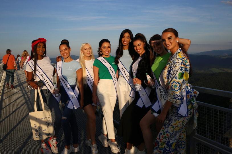 Finalistki Miss Supranational 2021 odkrywają atrakcje Małopolski /Nika Bruc /materiał partnera
