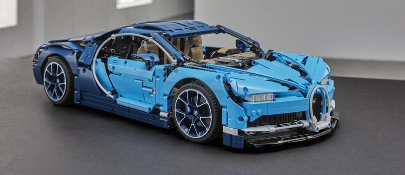 Finalny efekt - LEGO Technic Bugatti Chiron /materiały prasowe