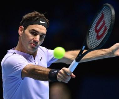 Finały ATP: Roger Federer - Marin Czilić 6:7 (5-7), 6:4, 6:1