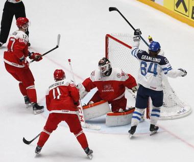 Finlandia - Dania 5-1, USA - Czechy 2-1 po karnych w ćwierćfinałach hokejowych MŚ