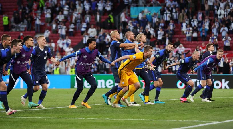 Finlanda după ce a învins Danemarca / PAP / EPA / FRIEDEMANN VOGEL / PAP
