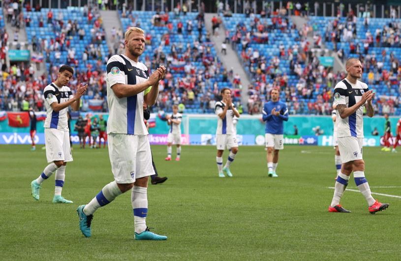 Finlandia przegrała z Rosją 0-1 w swoim drugim meczu na Euro. /Lars Baron /PAP