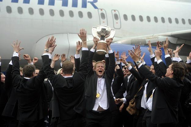 Finowie po raz drugi w historii zdobyli mistrzostwo świata /AFP