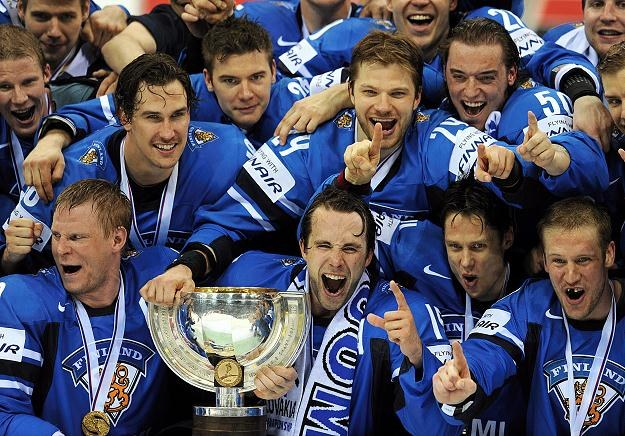 Finowie po raz drugi w historii zdobyli złoty medal MŚ /PAP/EPA