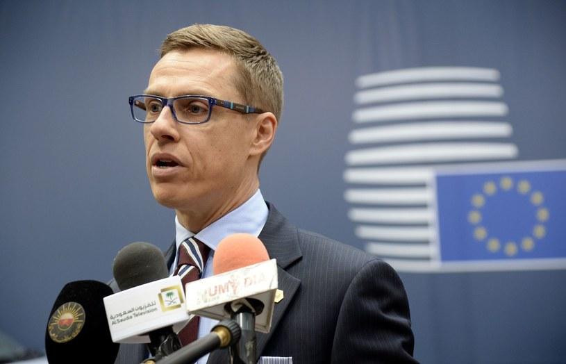 Fiński premier Alexander Stubb /AFP