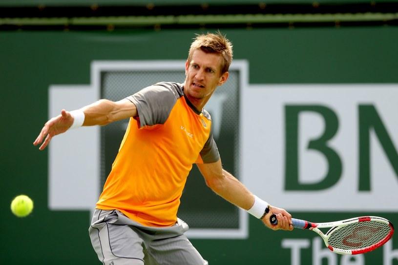 Fiński tenisista Jarkko Nieminen /AFP