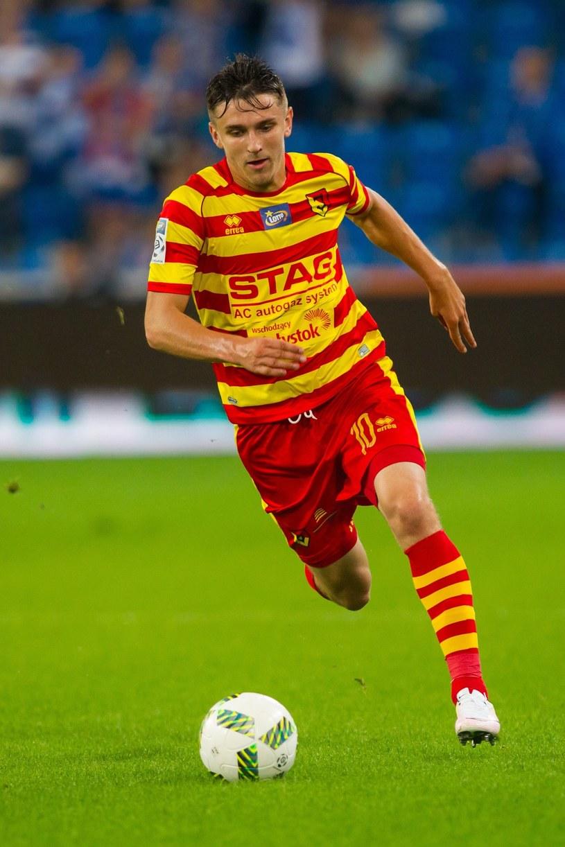 Fiodor Czernych został piłkarzem roku na Litwie /fot. Przemysław Szyszka/SE /East News