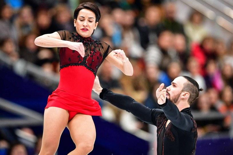 Fiodor Klimow i Ksenia Stołbowa /AFP