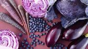 Fiolet na talerzu