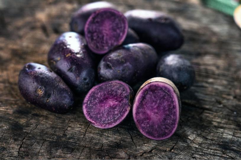 Fioletowe ziemniaki /©123RF/PICSEL