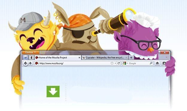 Firefox 4 - zapowiadał się prawdziwy hit i ostatni gwóźdź do trumny Internet Explorer 9 /materiały prasowe