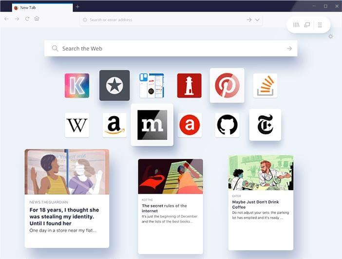 Firefox 57 Quantum /materiały prasowe