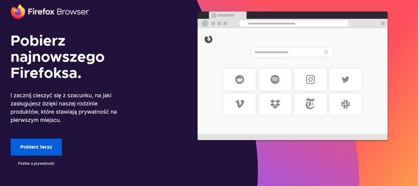 Firefox 71 już dostępny /materiały prasowe