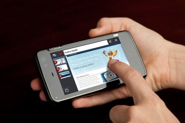 Firefox dla Nokii N900  powstał na bazie silnika Gecko, takiego samego jak w Firefoksie 3.6 /materiały prasowe